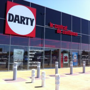 Films solaires magasin Darty